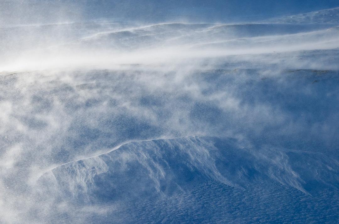 Drifting snow #3