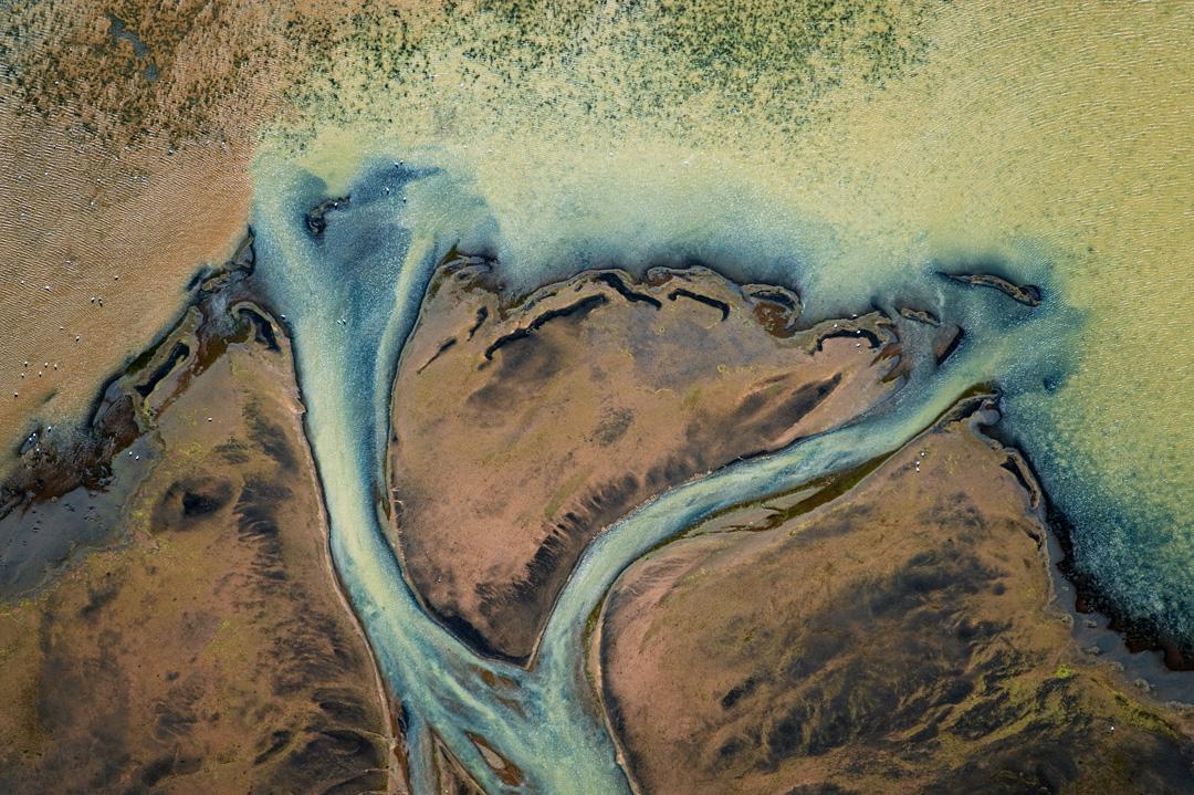 Dividing river
