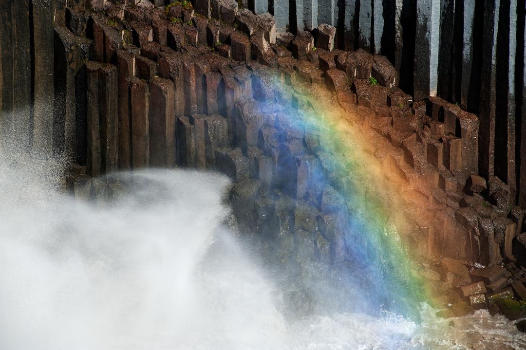 Basalt rainbow