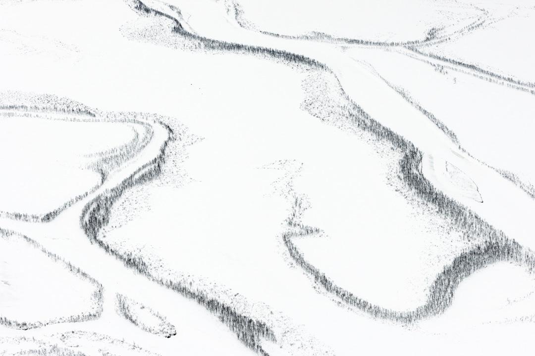 Frozen rivers